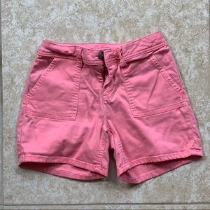 Justice pink shorts!